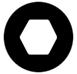 6pans hexagonal